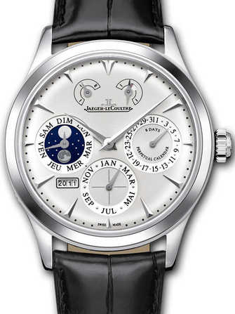 Jæger-LeCoultre Master Eight Days Perpetual 1618420 Watch - 1618420-1.jpg - mier