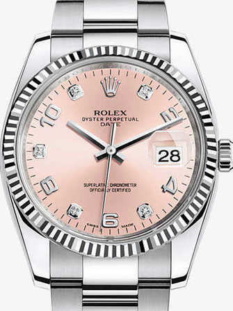 Rolex Oyster Perpetual Date 34 115234 Watch - 115234-1.jpg - mier