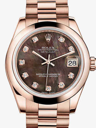Rolex Datejust 31 178245f-pink gold Watch - 178245f-pink-gold-1.jpg - mier