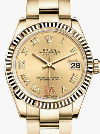 Rolex Datejust 31 178278-yellow gold Watch - 178278-yellow-gold-1.jpg - mier