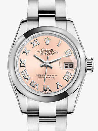 Rolex Lady-Datejust 26 179160-rose Watch - 179160-rose-1.jpg - mier