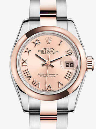 Rolex Lady-Datejust 26 179161-pink Watch - 179161-pink-1.jpg - mier