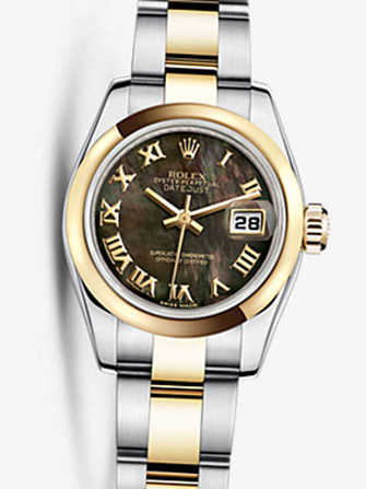 Rolex Lady-Datejust 26 179163-chocolate Watch - 179163-chocolate-1.jpg - mier