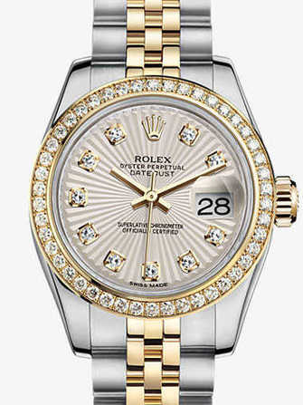 Rolex Lady-Datejust 26 179383-ivory Watch - 179383-ivory-1.jpg - mier