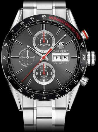 tag heuer carrera calibre 16 day date automatic chronograph monaco grand prix watch stainless. Black Bedroom Furniture Sets. Home Design Ideas