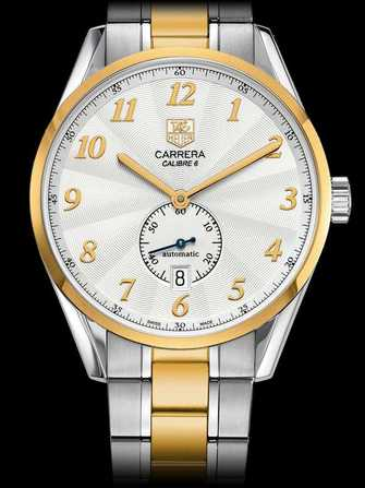 TAG Heuer Carrera Calibre 6 Heritage Automatic Watch WAS2150.BD0733 Watch - was2150.bd0733-1.jpg - mier