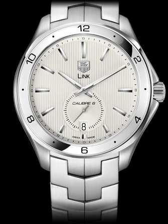 TAG Heuer Link Calibre 6 Automatic Watch WAT2111.BA0950 Watch - wat2111.ba0950-1.jpg - mier