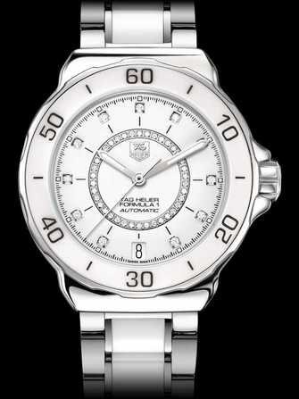 TAG Heuer Formula 1 Steel and Ceramic Diamond dial Automatic Watch WAU2211.BA0861 Watch - wau2211.ba0861-1.jpg - mier
