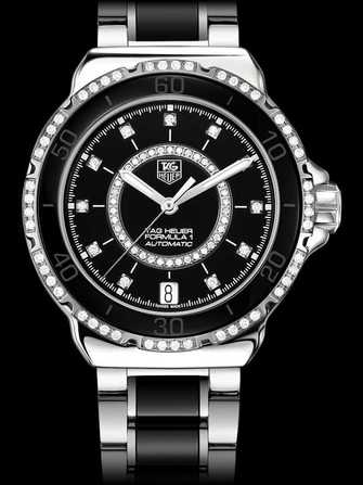 TAG Heuer Formula 1 Steel and Ceramic Diamonds Automatic Watch WAU2212.BA0859 Watch - wau2212.ba0859-1.jpg - mier
