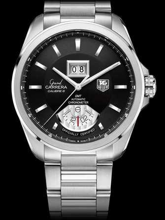 TAG Heuer Grand Carrera Calibre 8 RS Grande Date and GMT Automatic Watch WAV5111.BA0901 Watch - wav5111.ba0901-1.jpg - mier