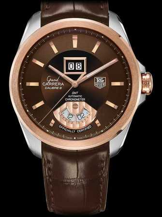 TAG Heuer Grand Carrera Calibre 8 RS Grande Date and GMT Automatic Watch WAV5153.FC6231 Watch - wav5153.fc6231-1.jpg - mier