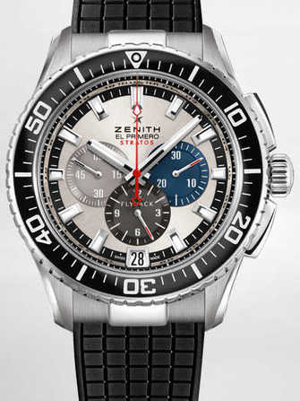 Zenith El Primero Stratos Flyback Tribute to Felix Baumgartner 03.2066.405/69.R515 Watch - 03.2066.405-69.r515-1.jpg - mier
