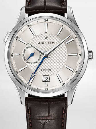 Zenith Elite Dual Time 03.2130.682/02.C498 Watch - 03.2130.682-02.c498-1.jpg - mier