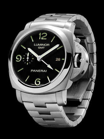 Panerai Luminor 1950 3 days GMT PAM 329 Watch - pam-329-1.jpg - morgan