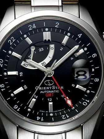 nouvelle version mignonne 100% de qualité supérieure Montre Orient Orient Star GMT - acier - Orient Star GMT